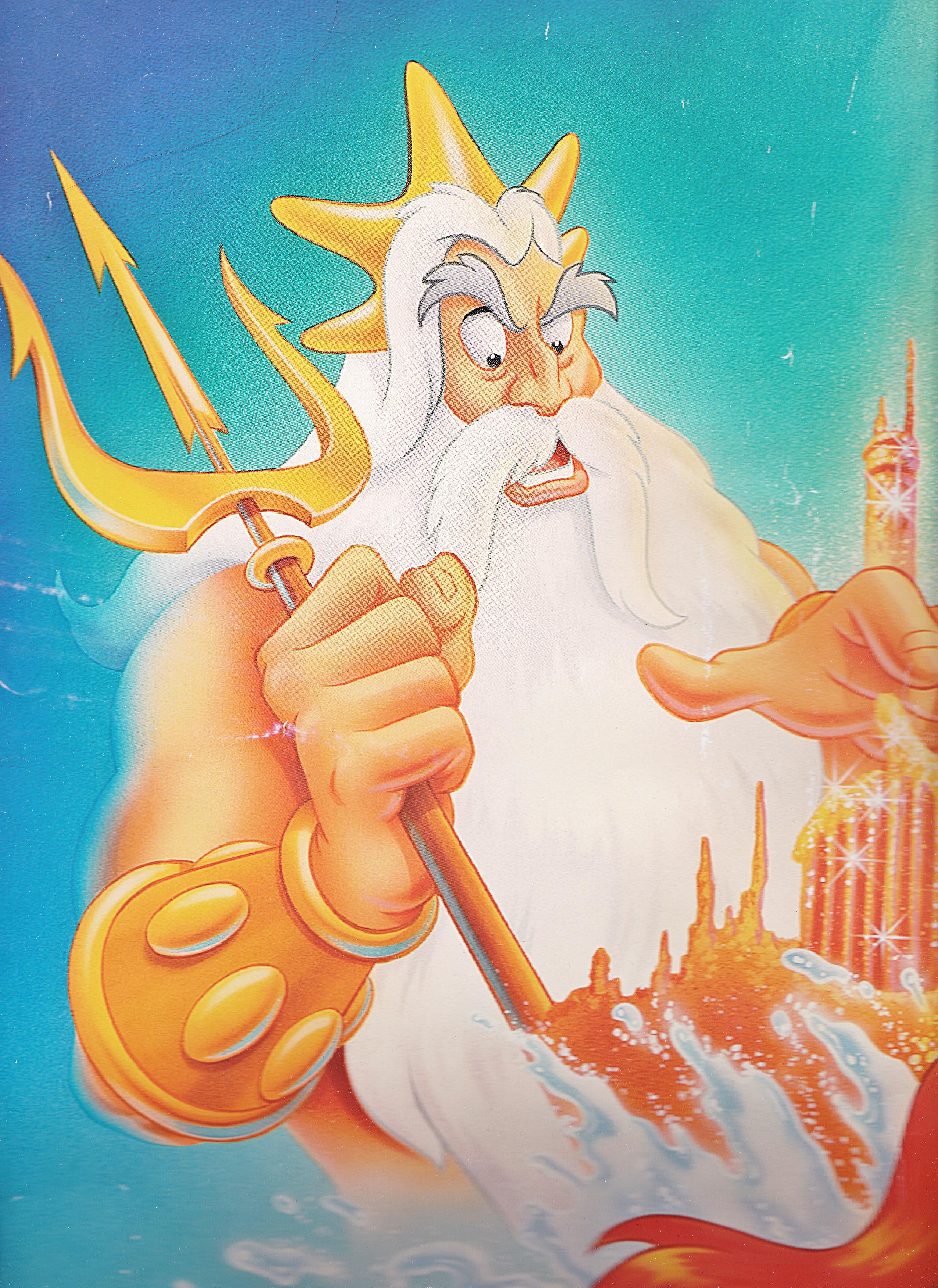 Walt Disney Images King Triton