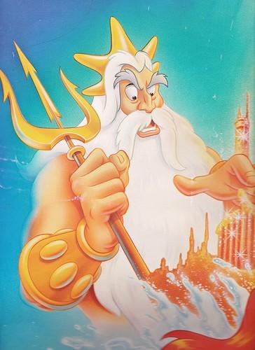 Walt disney gambar - King Triton