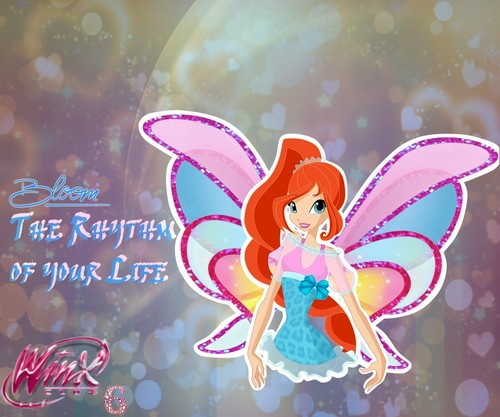 Winx Season 6: Character Wallpaper.