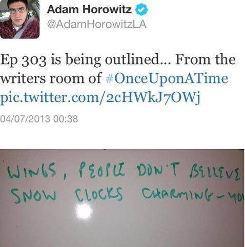 Writers Script Teaser (3x01)
