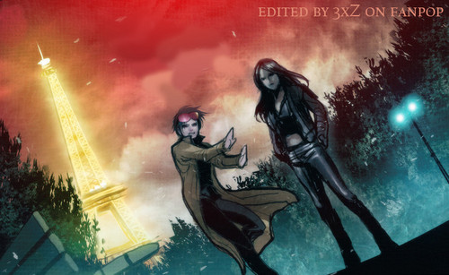 X-23 wallpaper with anime titled X-23 and Jubilee