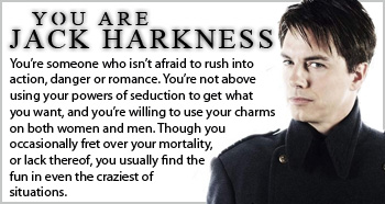 আপনি are Captain Jack Harkness