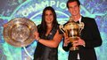 bartoli murray after Wimbledon - andy-murray photo