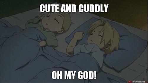 cute and cuddly omg!