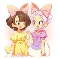 daisy and minnie