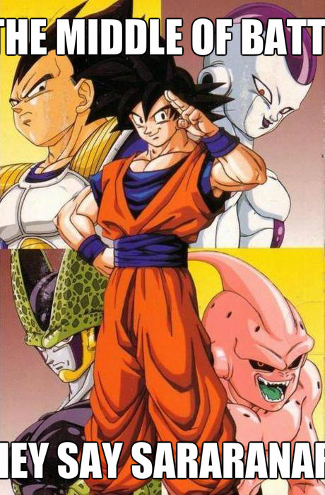dragon ball z fighting