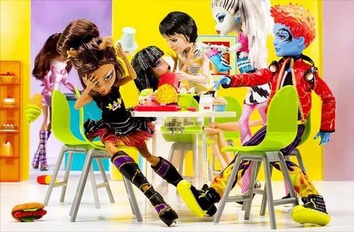 Как сделать еду для куклы монстер хай своими руками