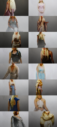 Daenerys' Costumes Through the Seasons