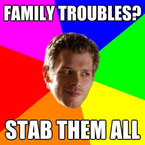 klaus and his family problems