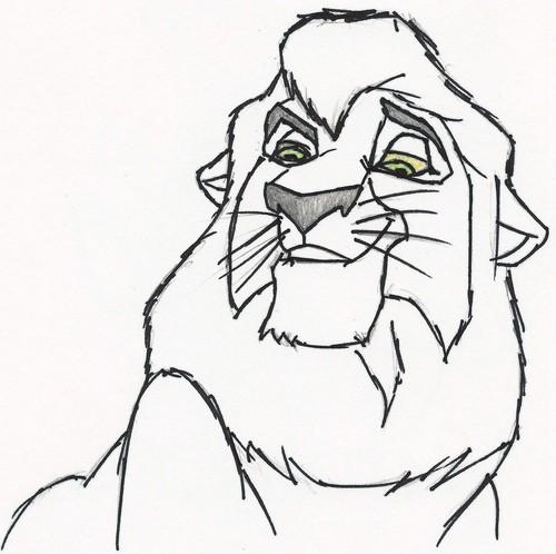 The Lion King 2:Simba's Pride wallpaper titled kovu