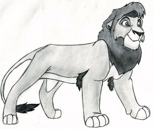 The Lion King 2:Simba's Pride wallpaper probably containing anime called kovu
