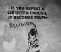 lies - atheism photo