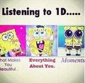 listening 2 1D - spongebob-squarepants photo
