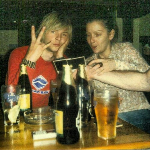 maybe 10 years ago? Dunno what bar either, with asling #goodtimes #throwback #young