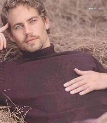 my sexy blonde hottie,Paul Walker