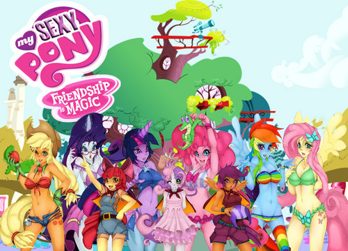 my little pony friendship is magic wallpaper possibly with anime called my sexy pony