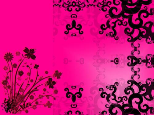 담홍색, 핑크 바탕화면