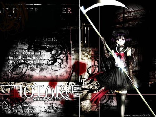 Sailor Moon wallpaper entitled sailor saturn