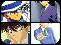 sinichi and kaito kid - detective-conan fan art