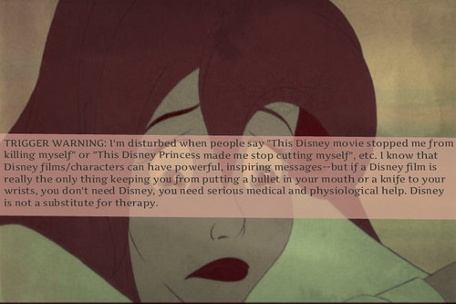 some Disney fans need therapy