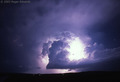 supecell thunderstorm - weather photo