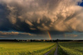 supercell thunderstorm - weather photo