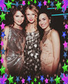 taylor demi selena - taylor-swift-and-selena-gomez fan art