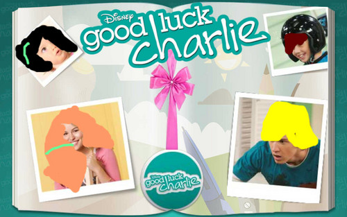 Good Luck Charlie fondo de pantalla probably with anime entitled the siblings