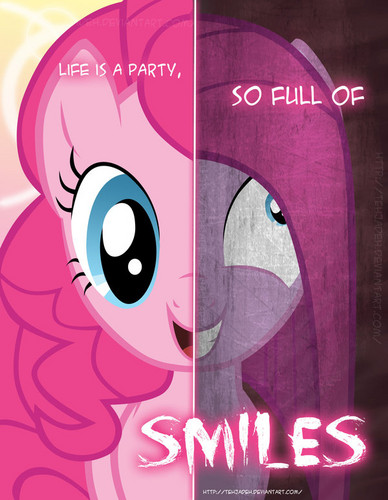 two sides_pinkie pie