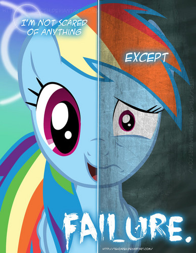 two sides_rainbow dash