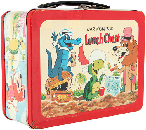 Lunch Boxes wallpaper titled www.hakes.com