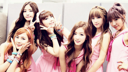 Korea Girls Group A Pink wallpaper containing a portrait entitled ☆ A Pink ☆