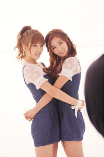 Korea Girls Group A Pink wallpaper probably containing bare legs called ☆ A Pink ☆