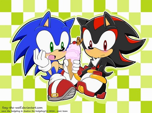 Sonadow wallpaper probably containing anime titled .:Ice Cream:.