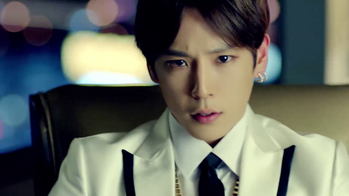 Himchan wallpaper probably with a business suit titled ♦ Kim Himchan - Hurricane MV ♦