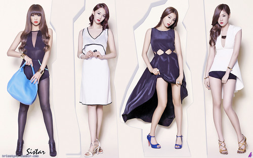 SISTAR (씨스타) wallpaper probably with a chemise, a playsuit, and a chemise entitled ★ SISTAR ☆