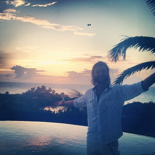 #whiteparty #neckerisland #keithharkin #virgin