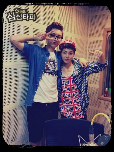 130712 Xiumin and Chanyeol hosting Shimshimtapa! + Cultwo ipakita Subbed