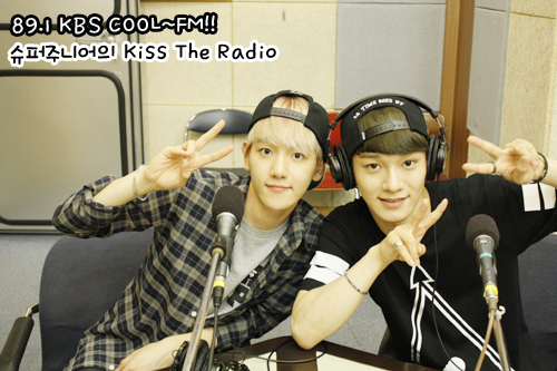 130714 Baekhyun and Chen on Sukira!