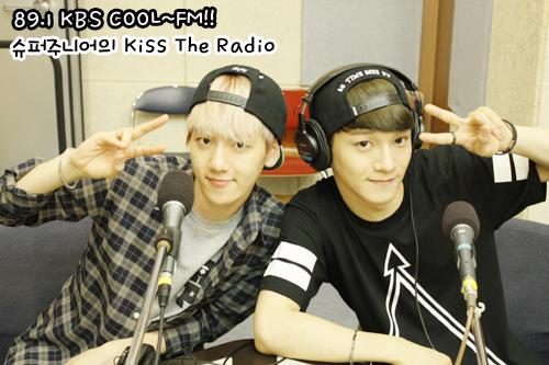 130714 Baekhyun and Chen on Sukira!