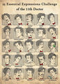 25 Essential Expressions of the Eleventh Doctor - the-eleventh-doctor fan art