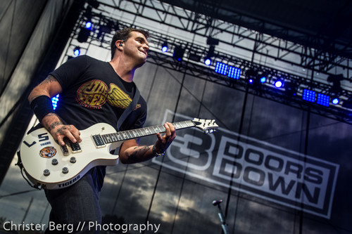 3 Doors Down wallpaper containing a guitarist called 3 Doors Down by Christer Berg // Photography