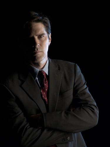 SSA Aaron Hotchner wallpaper containing a business suit and a suit titled Aaron Hotchner