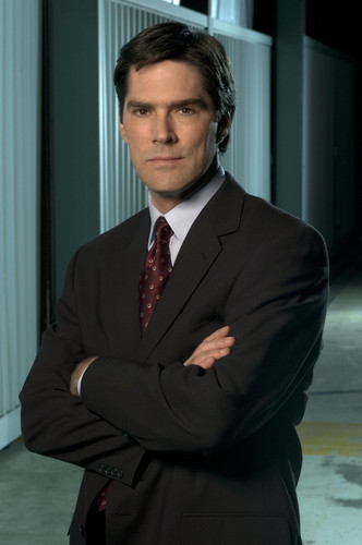 SSA Aaron Hotchner پیپر وال containing a business suit, a suit, and a single breasted suit called Aaron Hotchner