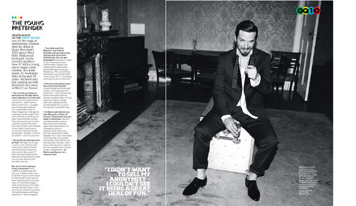 Aden Young - GQ Magazine