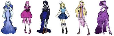 Adventure time dresses