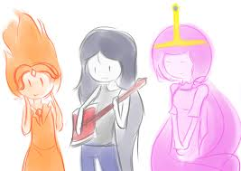 Adventure time girls drawing 2
