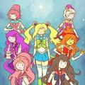 Adventure ttime (sailor moon)