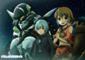 Amy, Ledo and Chamber - suisei-no-gargantia photo