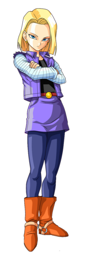 Android 18 PNG